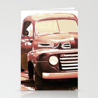 truck Stationery Cards featuring Old Truck by Regan's World