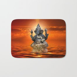 Elephant God Ganesha Bath Mat