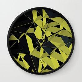 3D Futuristic GEO V Wall Clock