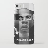 jay z iPhone & iPod Cases featuring Jay-Z (PICASSO BABY) by Alvarez Designs by: Mike Alvarez