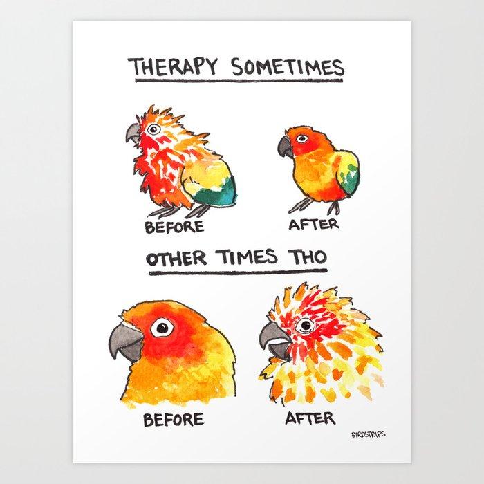 Bird no. 490: Other Times Tho Art Print