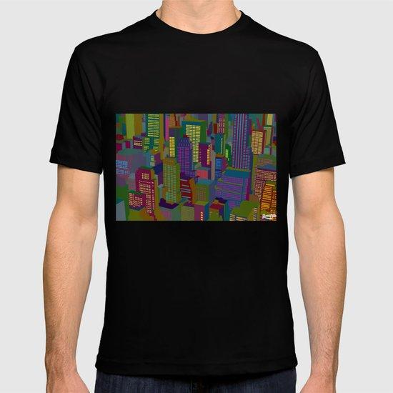 Cityscape night T-shirt