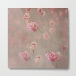 Rose, rose, red rose,  Rose in the heather... Metal Print