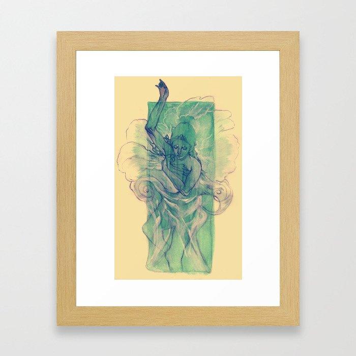 A Dream within a Dream Framed Art Print