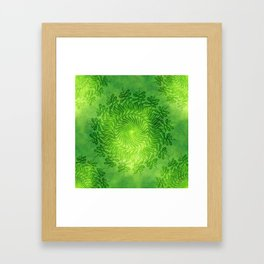 Mandala vibes 1. Framed Art Print