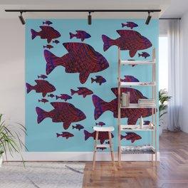 Gone Fishing Wall Mural