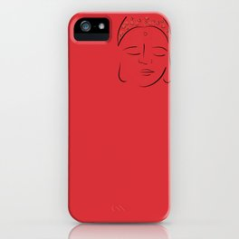 Red Buddha iPhone Case