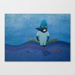 Shark The Strongest Canvas Print