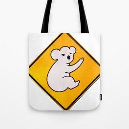 Koala Wid Attitude Tote Bag