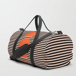 Abstraction_SUNSET_LINE_ART_Minimalism_001 Duffle Bag