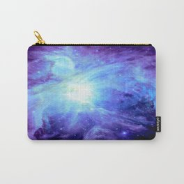 NEBula Purple Periwinkle Blue Carry-All Pouch