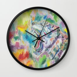 Law Of The Jungle Wall Clock