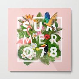 SUMMER of 78 Metal Print