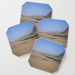 SANDYMOUTH BEACH NORTH CORNWALL FROM MENACHURCH POINT Coaster