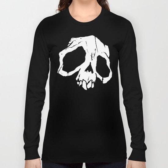 Ghoul Skull Long Sleeve T-shirt