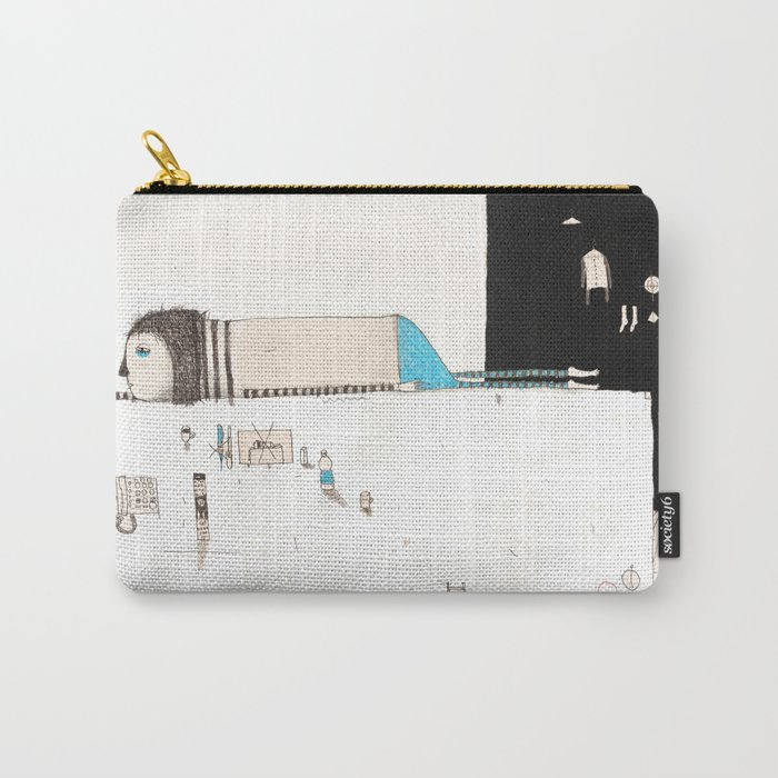Forgive yourself and move on from your mistakes. Carry-All Pouch