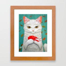 CRAWFISH Framed Art Print