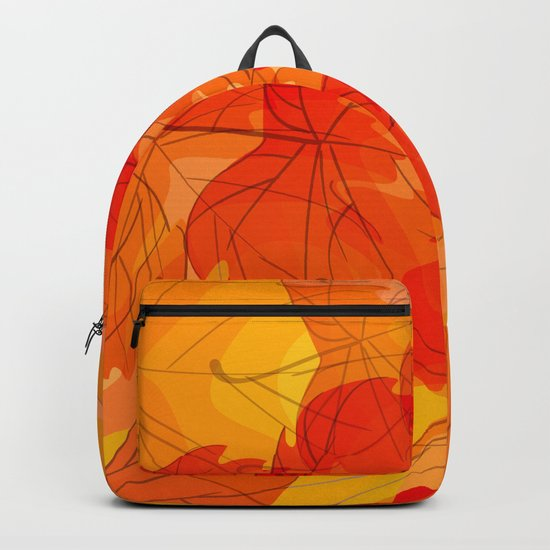 Autumn leaves - sketch Backpack