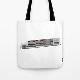School Facade Tote Bag