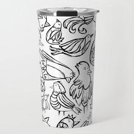Bird Bash  Travel Mug