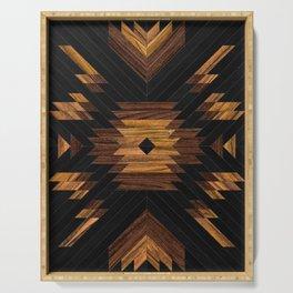 Urban Tribal Pattern No.7 - Aztec - Wood Serving Tray
