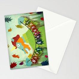Happy Birthday Unicorn 10 Stationery Cards