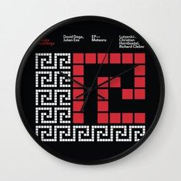 La Famiglia Recordings - Meteora EP Wall Clock