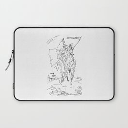 Medieval Rider Laptop Sleeve