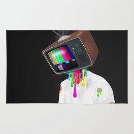 TV Head Rug