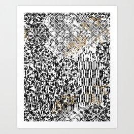 Tile Dream Art Print