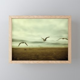 Past, Present, Future of an Extended Moment Framed Mini Art Print