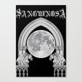 Sanguinosa - At The Gates Of The Crypt Canvas Print