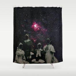Untergang · Der Blick ins Universum Shower Curtain
