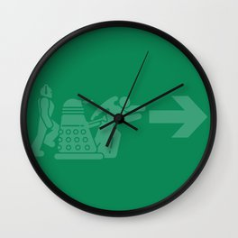 Time Exit - left panel Wall Clock