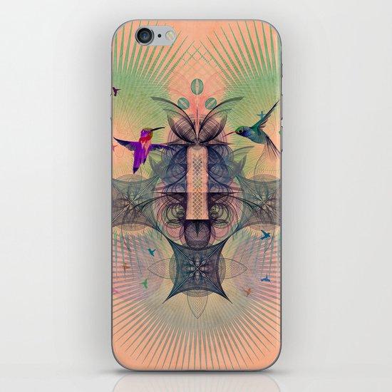 The Hummingbird Dimension iPhone & iPod Skin