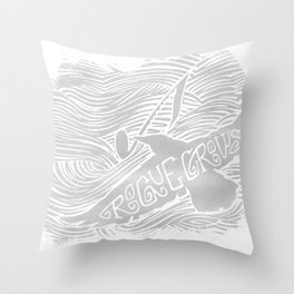 The Rogue Crows Throw Pillow