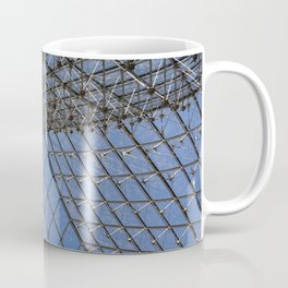 View from Under: The Louvre Coffee Mug