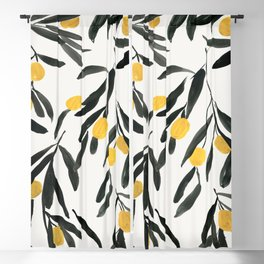 Olive Branch Blackout Curtain