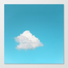 Happy Cloud Canvas Print