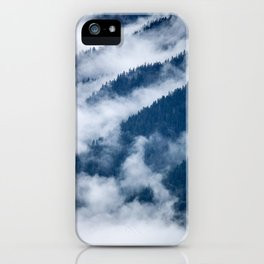 Olympic Mountains from Hurricane Ridge iPhone Case