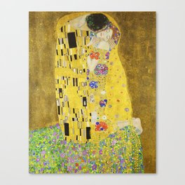 The Kiss - Gustav Klimt, 1907 Canvas Print