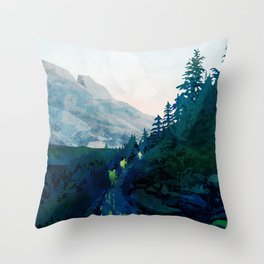 Heritage Art Series - Jade Throw Pillow