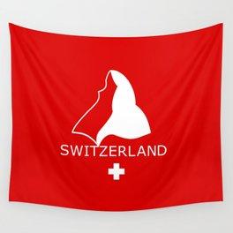 Switzerland and Matterhorn Wall Tapestry