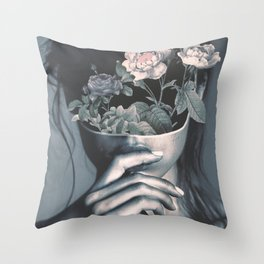 inner garden Throw Pillow