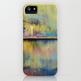 Tropical Rain iPhone Case
