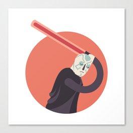 SIDE BY SIDE - DARK SIDE Canvas Print