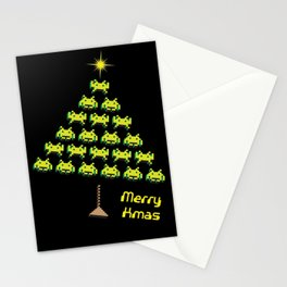 Let's invade for Christmas Stationery Cards