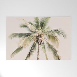 Tropical Palm Tree Welcome Mat