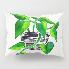 Philodendron Plant Pillow Sham