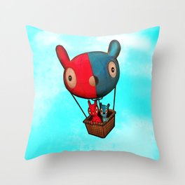 Yoo & Mee Throw Pillow